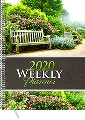 2020 Inspirational Weekly Planner: Desk Edition