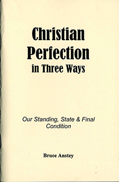 Christian Perfection in Three Ways: Our Standing, State and Final Condition by Stanley Bruce Anstey