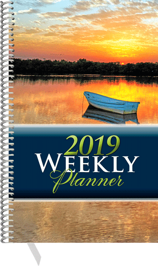 2019 Inspirational Weekly Planner: Personal Edition