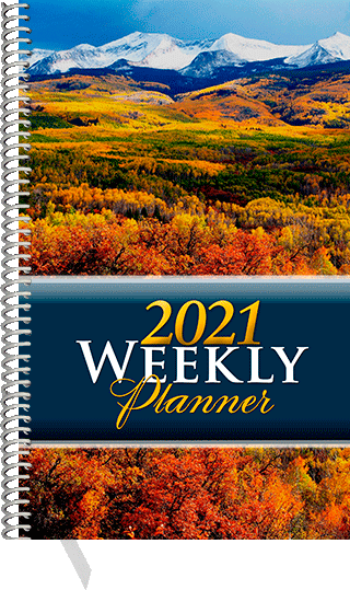 2021 Inspirational Weekly Planner: Personal Edition