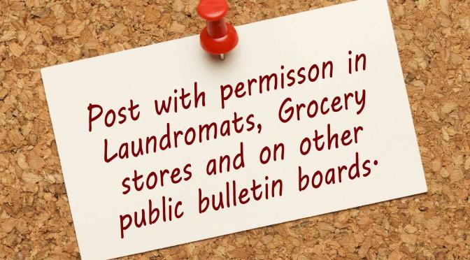 Romans 3:23–Post on Public Bulletin Boards