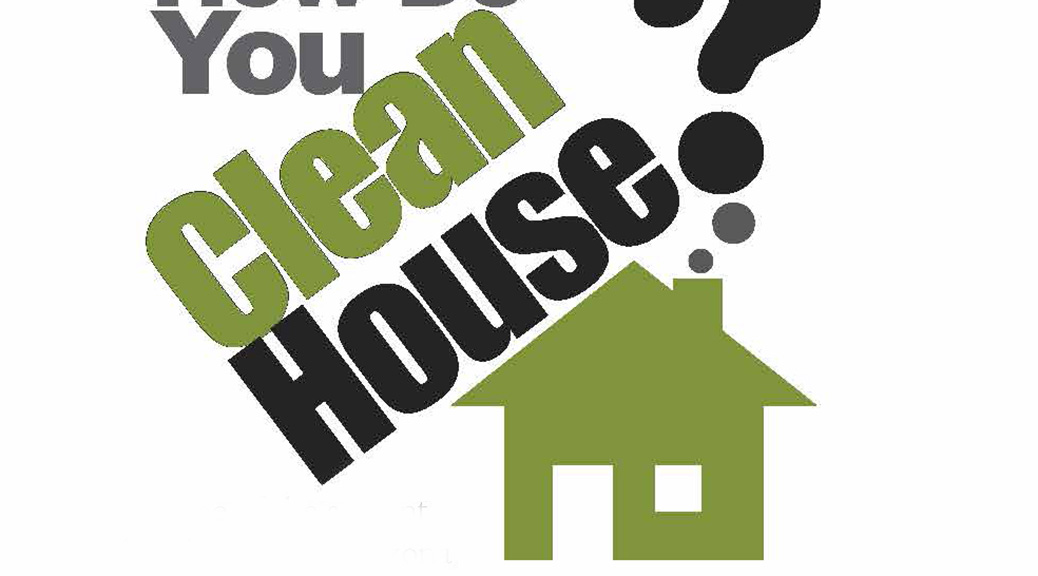How Do You Clean House?–Large Print Tract