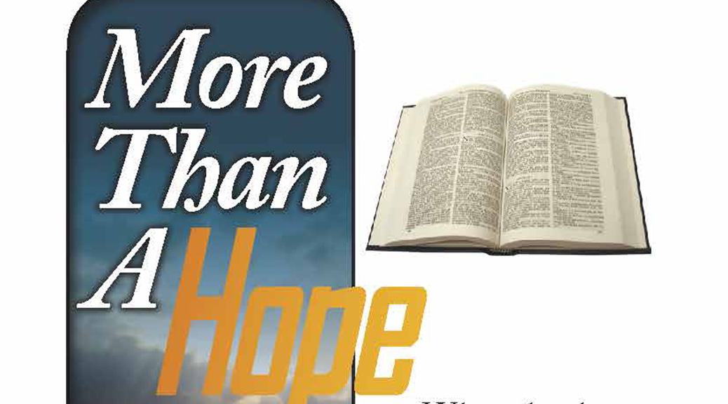 More Than A Hope–Large Print Tract