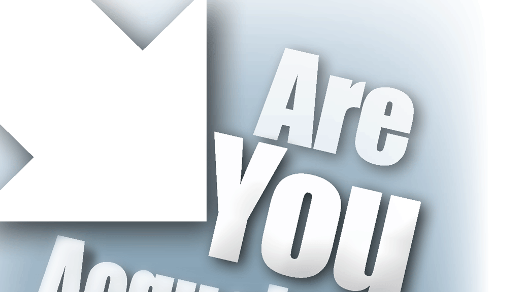 Are You Acquainted With the Author–Large Print Tract